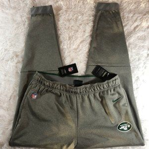 New York Jets Nike On-Field Therma Joggers